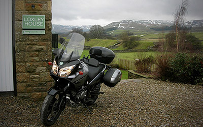 Loxley House Motorcycling in the Yorkshire Dales