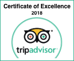 Tripadvisor Certifcate of Excellence